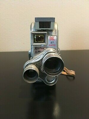 VINTAGE KEYSTONE 8MM K 25 Capri Movie Film Camera - $20 00