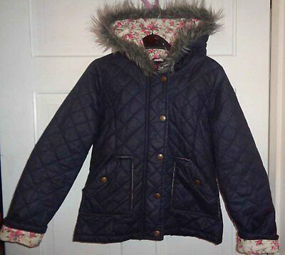 Yumi Girls Fitted Quilted Jacket - 11-12 Years Fit 9-10
