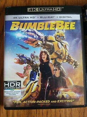 Transformers: Bumblebee (4K UHD + Case + Comic book) w/ SLIP COVER **FREE SHIP**