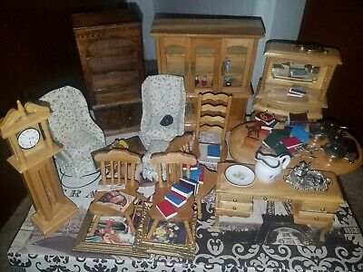 Dollhouse Furniture and Accessories Lot