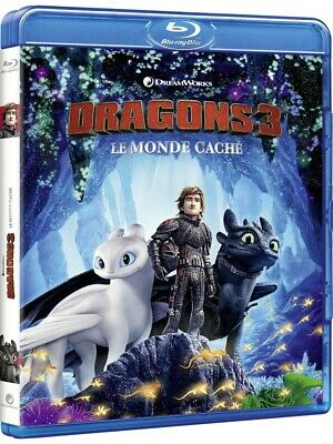 Dragons 3 : Le Monde caché - Blu-ray - 104 minutes - Neuf