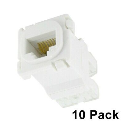 10 x CAT6 RJ45 Mech - Clipsal Compatible
