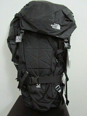 NWT The North Face TNF Summit Series Cobra 60 Backpack Climbing Pack - Black