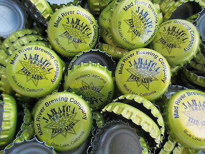 100  ((( Jamaica Brand ))) Beer Bottle Caps (No Dents). Free Shipping