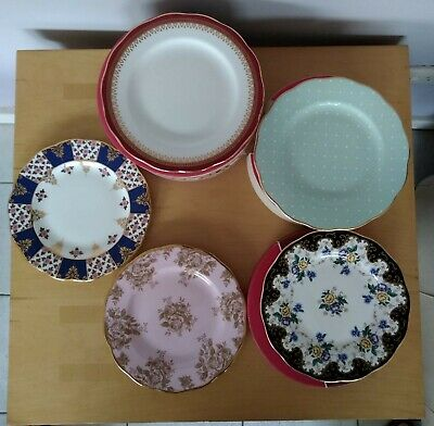 Royal Albert 100year 5 piece tea ware set of plates Unused in box