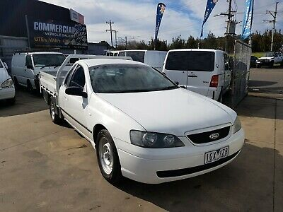 FORD FALCON XL BA MKII 2006 6CYL 4.0L 4SP AUTO UTE STEEL TRAY commodore holden