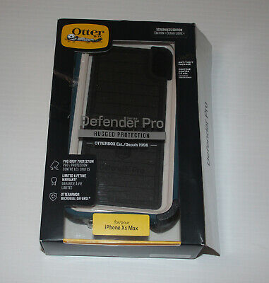 Authentic OtterBox Defender PRO Series Case For iPhone Xs Max with Holster Clip