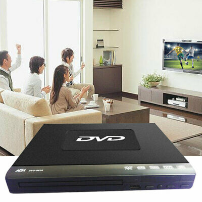 DVD Player Compact Multi Region DVD-8618 Upscaling HDMI USB & Easy set up