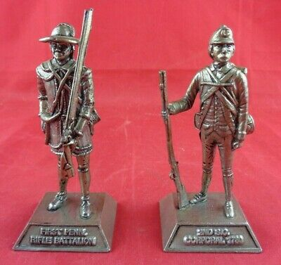 VTG K/S PEWTER Toy Soldier 2nd South Carolina Corporal 1780