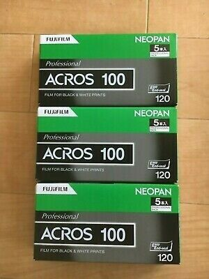 New 15 Roll FUJIFILM Neopan Acros 100 120 Black & White Film from Japan