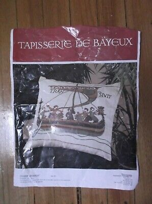 Unworked Bayeux Tapestry Cushion Cover Kit.