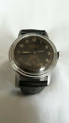 Vintage Pierce FAB SUISSE Movement. Mens Watch Runs. Keeps perfect time.