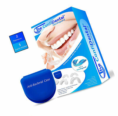 Mouth Guard Sleep Aid Device Sleep Apnea Breath 5 Pack Moldable Jaw Mouthpieces