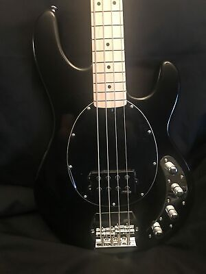 NEW Vintage Wilkinson RI 4-String V964BLK Classic 90's Style Electric Bass Gu...