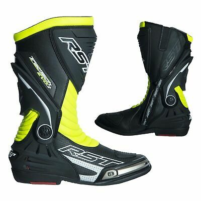 RST 2101 TracTech Evo III Sport CE Unisex Motorcycle Boots - Yellow 10.5 45