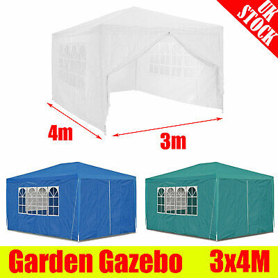 3m x 4m Tent Waterproof Outdoor Wedding Party Garden Gazebo Marquee Canopy UK