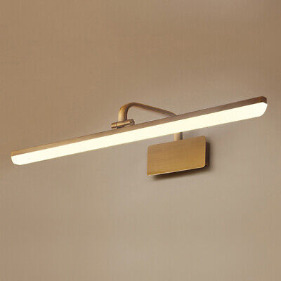 Modern Antique Brass Arc Arm Picture Wall Sconce Light Adjustable Fixture Lamp