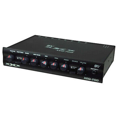 Xxx Xeq700 4 Band Parametric Equalizer