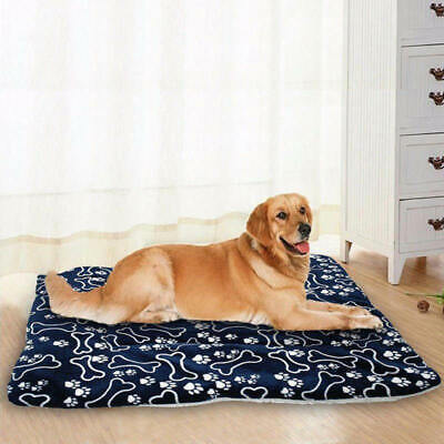 Pet Washable Home Blanket Large Dog Bed Cushion Mattress Kennel Soft Crate Mat d