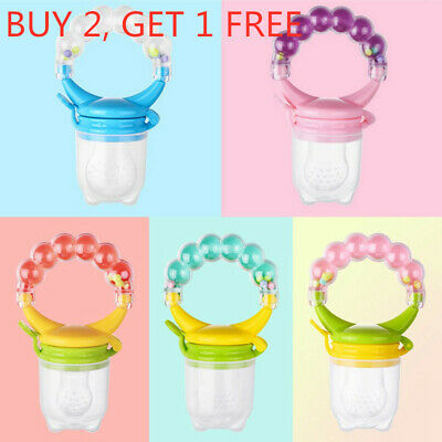 Baby Feeding Pacifier Fresh Food Fruit Feeder Infant Dummy Soother *#YF