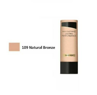 Max Factor Lasting Performance Touch-Proof Foundation 35ml - 109 Natural Bronze