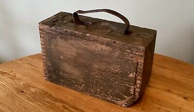 WW1 US M1917 Browning Ammo Box