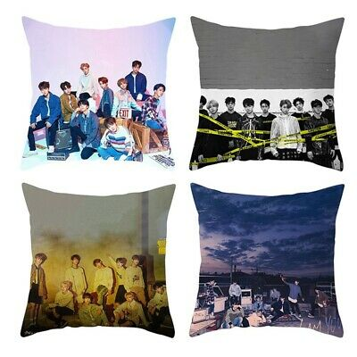 Kpop STRAY KIDS - Clé 2 : YELLOW WOOD Photo Pillow Case Square Cushion Cover New