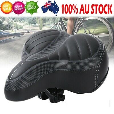 Pro AU Road MTB Mountain Bike Bicycle Spring Seat Soft Gel Padded Cushion Saddle