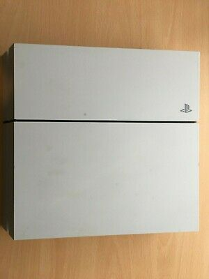 Sony PlayStation 4 PS4 500GB Glacier White Console Only FAULTY