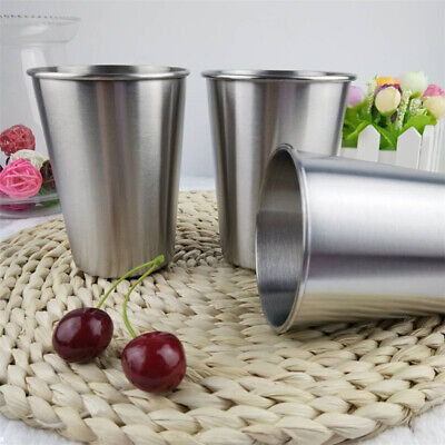 Stainless Steel Coffee Cup Travel Mug Vacuum Insulated Portable Tumbler Cups LH