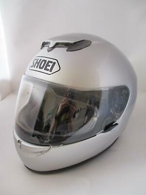 Shoei Raid 2 Ex-Loan Helmet Silver Size XL Motorcycle Road Bike Motorbike