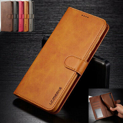 For Samsung Galaxy A30 A40 A50 A70 A80 Genuine Leather Flip Wallet Case Cover