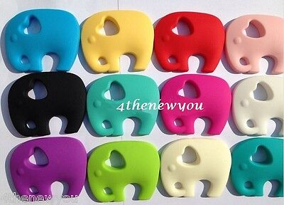 Chewelry Elephant Chewy Necklace Autism Child Teething Sensory Toys Children