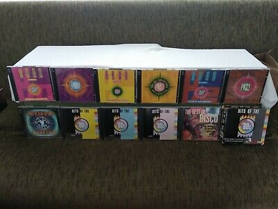 Time Life The 80's CD Collection LOT (6 Double CDS + 1 Triple +2) Mint Condition