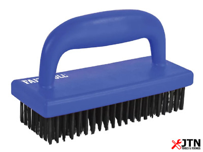 Faithfull FAIHSB Hand Scrub Steel Wire Brush 85mm x 175mm