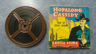 Hopalong  Cassidy  Bar  20 Rides Again  Película 8 Mm-Cult-Retro,Vintage Film