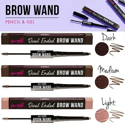 Barry M Dual Ended Eye Brow Pencil & Tinted Gel Sculpt Eyebrow Wand Makeup Shade