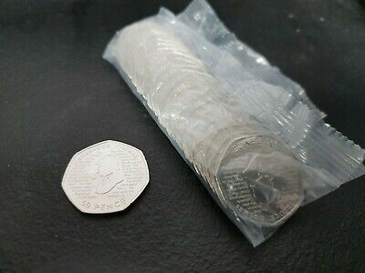 2019 Sherlock Holmes 50p Sealed Bag Brand new 20 x 50p Uncirculated