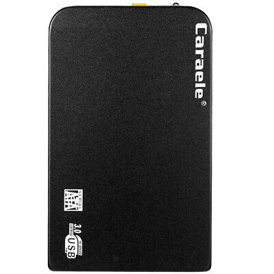 "2.5"" USB 3.0 HDD 2TB Enclosure Mobile Hard Drive External Laptop Black"