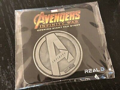 Avengers Infinity War Regal Opening Night Fan Event Collectible Coin (Silver)