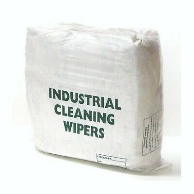 Terry Towelling Cleaning Rags 10kg | Industrial Wipes Clean Oil, Water, Liquids