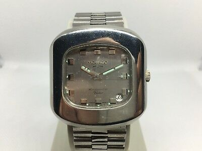 Vintage Movado Kingmatic Video HS 360 70´s Watch For Collectors Swiss Made Orig