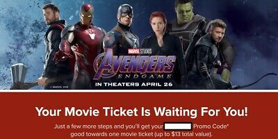Five Movie Tickets [Fandango codes] good until 5/31/2020 - see any movie!
