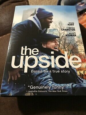 The Upside (2019 DVD) Like New With Slip Cover