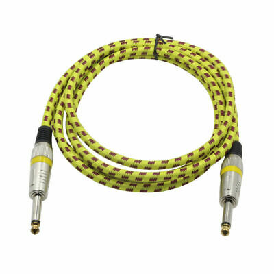 Instrument Guitar Professional Noiseless Cable Straight Plugs Cable for Bass
