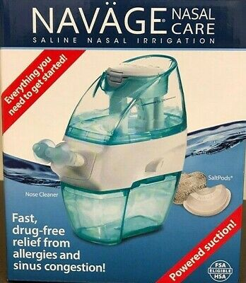Navage Nasal Irrigation Starter Bundle Navage Nose Cleaner