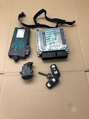 Bmw 5 Series E60 E61 525D Pre Lci M57 256D2 Manual Engine Ecu Set 7802266