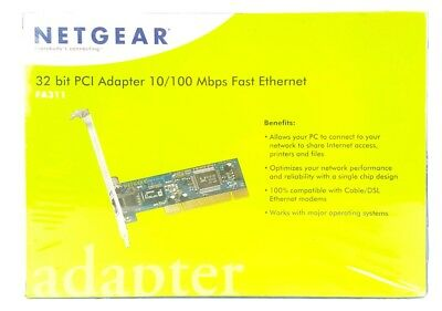 NETGEAR FA311V2 WIRED ADAPTER DRIVERS FOR WINDOWS XP