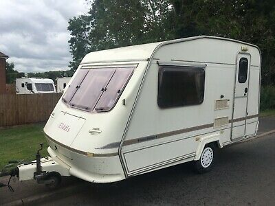 1996 elddis whisp 2 berth lightweight and small trade sale great start caravan