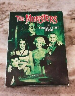 The Munsters Complete First Season 3-Disc Set  GUC